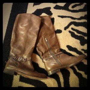 Coach Mysie leather riding boots